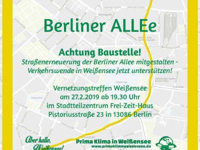 """Bericht von """"Achtung Baustelle! Berliner ALLEe"""" am 27.2. im Frei-Zeit-Haus"""