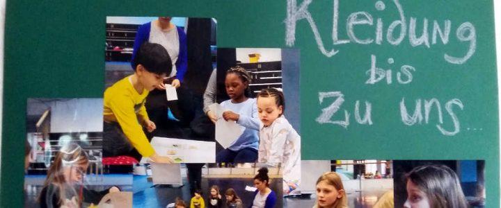Kinder-Theater: Die Reise der Kleidung bis zu uns